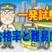 運転免許 一発試験(飛び込み)の難易度と合格率